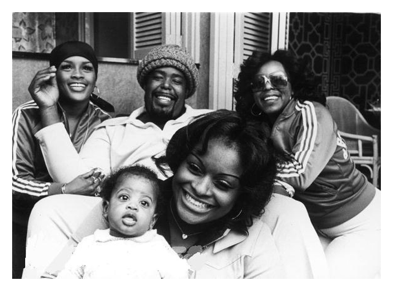 Picture of Barry White and family